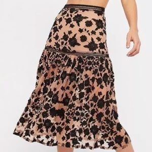 NWT For Love and Lemons Temecula Skirt
